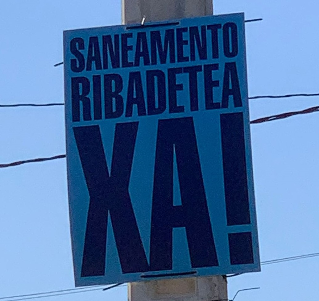O GOBERNO LOCAL SEGUE DE BRAZOS CRUZADOS EN RELACIÓN Ó SANEAMENTO DE RIBADETEA