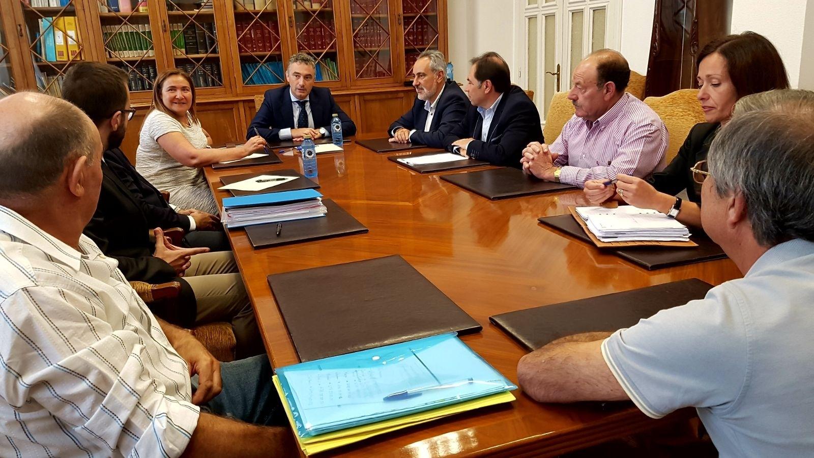 Solla E Villar Reúnense Co Director Xeral De Estradas Do Estado Para Tratar As Obras Da N120 E Da Variante De Ponteareas